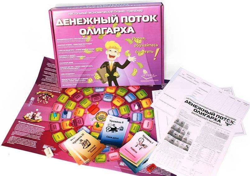 Психологическая игра «Денежный поток олигарха»